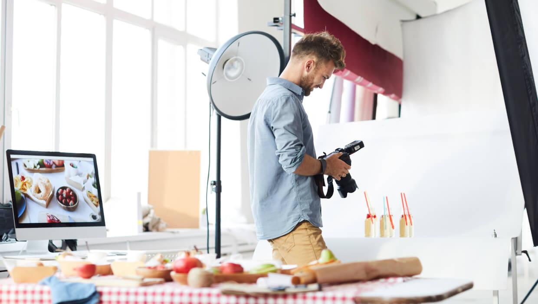 Como trabalhar com fotografia publicitária?