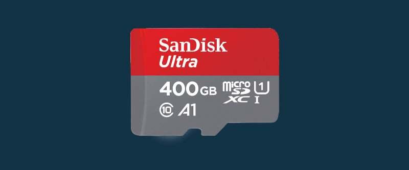 Novo microSD SanDisk com capacidade de 400GB